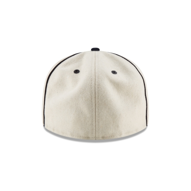 Cleveland Indians Injection Pack Melton Retro  59Fifty Cerrada Vista trasera