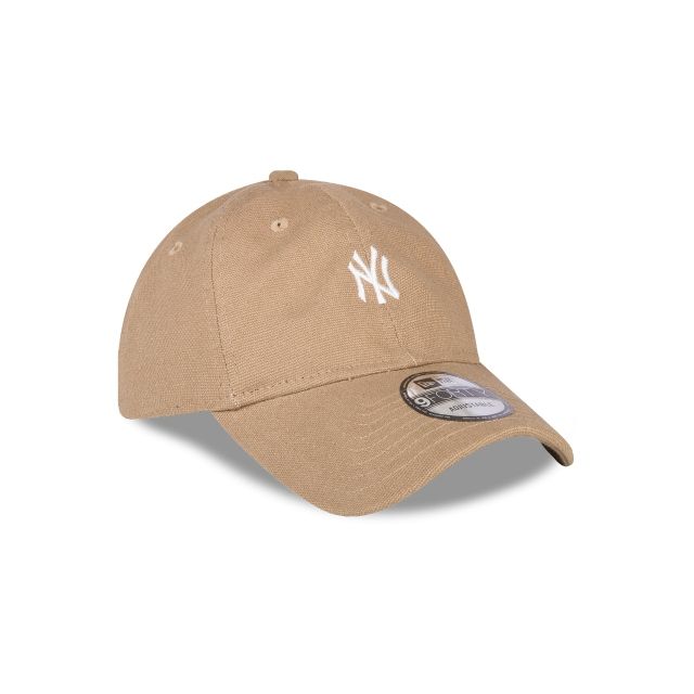 New York Yankees Canvas  9Forty Strapback Vista derecha tres cuartos