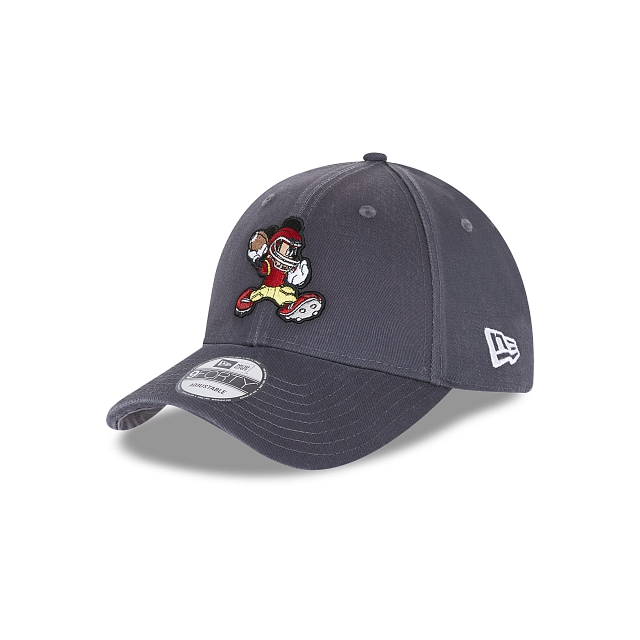 Mickey Mouse Football Character Sports  9FORTY Strapback Gris | Gorras Character Sports | New Era México