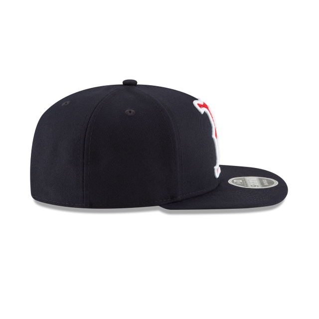 Boston Red Sox Meshed Mix  9Fifty OF Snapback Vista derecha