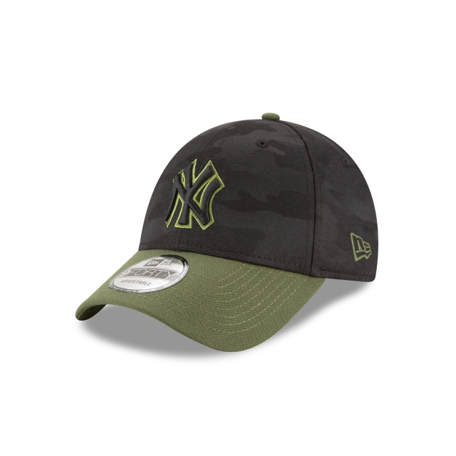 New York Yankees Memorial Day  9Forty Strapback Vista izquierda tres cuartos