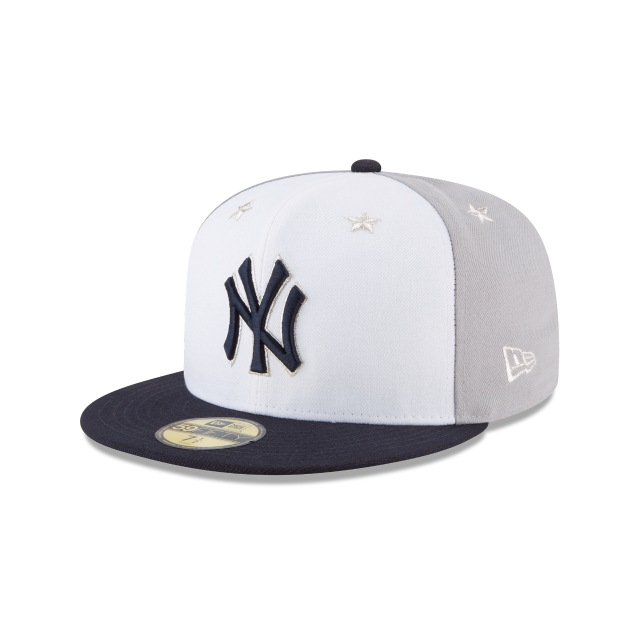 New York Yankees MLB All-Star Game 2018  59Fifty Cerrada Vista izquierda tres cuartos