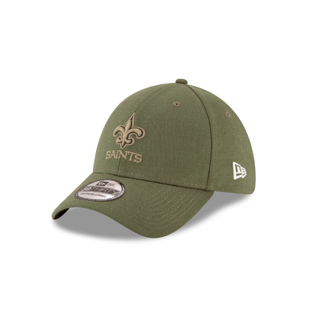 New Orleans Saints Nfl Salute To Service 2018  39thirty Elástica | New Orleans Saints Caps | New Era Cap