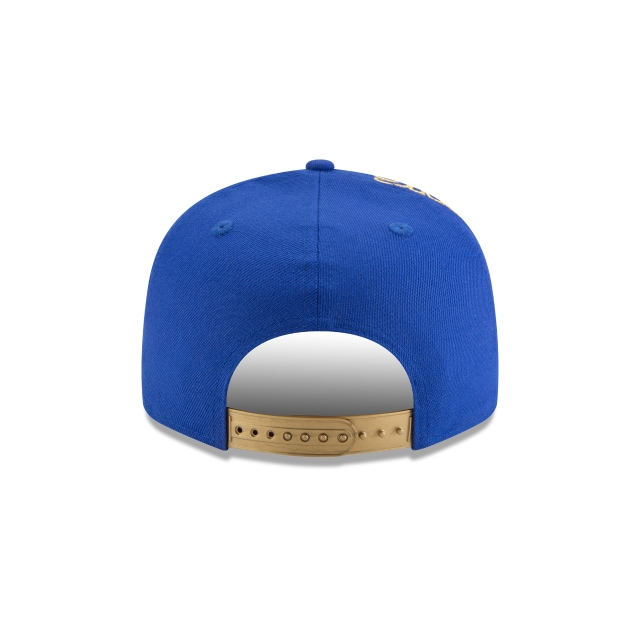 Golden State Warriors Tribute Flip  9Fifty Snapback Vista trasera