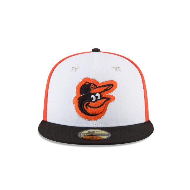 Baltimore Orioles MLB All-Star Game 2018 Niño 59Fifty Cerrada Vista frontal