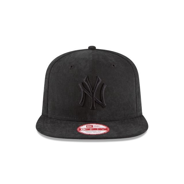 New York Yankees Men´s Leather  9Fifty Snapback Vista frontal