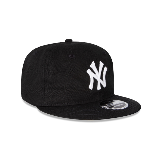 New York Yankees Black 25 9Fifty Snapback Vista derecha tres cuartos