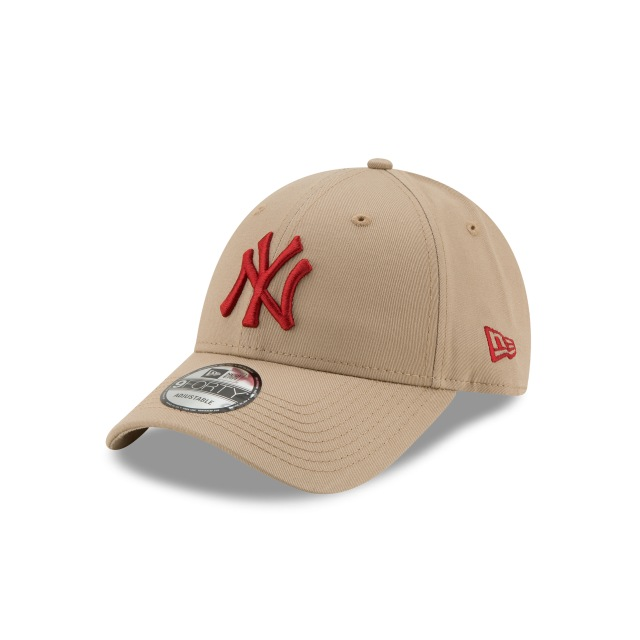 New York Yankees League Essential  9Forty Strapback Vista izquierda tres cuartos