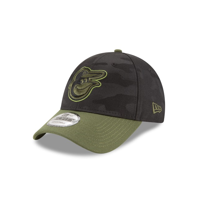 Baltimore Orioles Memorial Day  9forty Strapback | New Era Cap