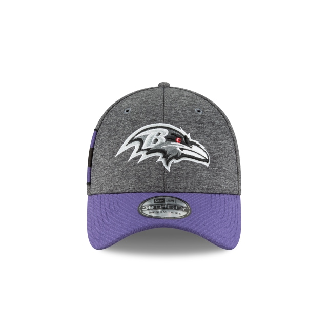 Baltimore Ravens NFL Sideline Defend 2018  39Thirty Elástica Vista frontal