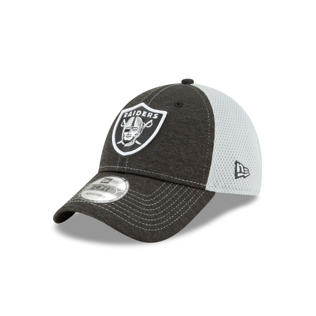 Oakland Raiders Shadow Turn  9forty Strapback | Oakland Raiders Caps | New Era Cap