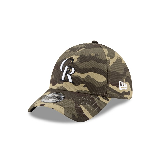 Colorado Rockies MLB Armed Forces 2021  39THIRTY Elástica | Gorras de Colorado Rockies | New Era México