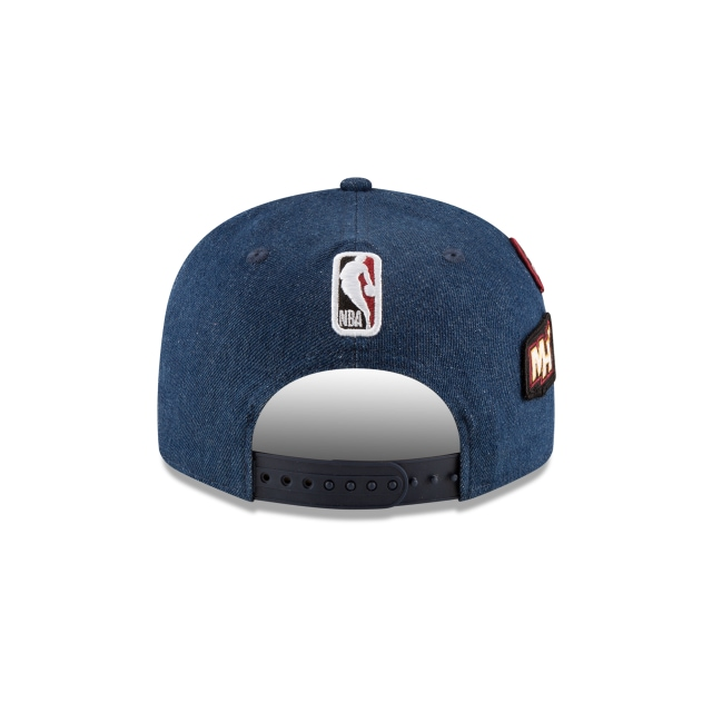 Miami Heat NBA Draft 2018 9Fifty Snapback Vista trasera