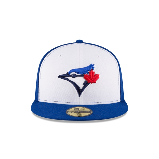 Toronto Blue Jays Authentic Collection  59Fifty Cerrada Vista frontal