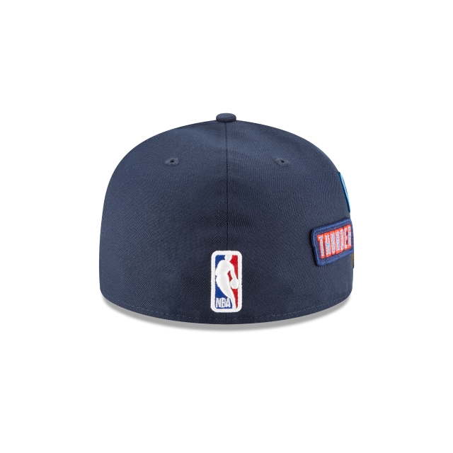 Oklahoma City Thunder NBA Draft 2018 59Fifty Cerrada Vista trasera
