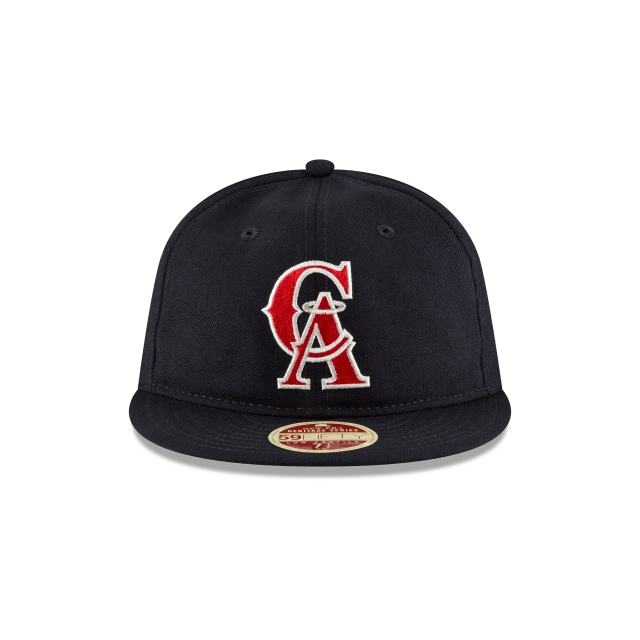 California Angels Injection Pack Vintage Stripe  59Fifty RC Cerrada Vista frontal