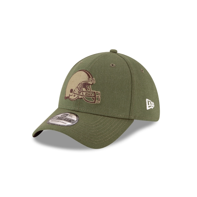 Cleveland Browns Nfl Salute To Service 2018  39thirty Elástica | New Era Cap