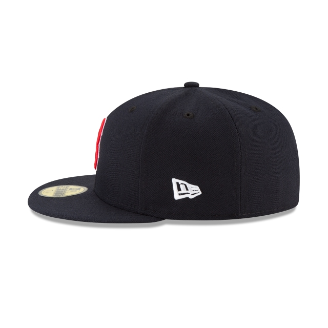 Boston Red Sox MLB Authentic Collection Parche Serie Mundial 2018 59Fifty Cerrada Vista izquierda