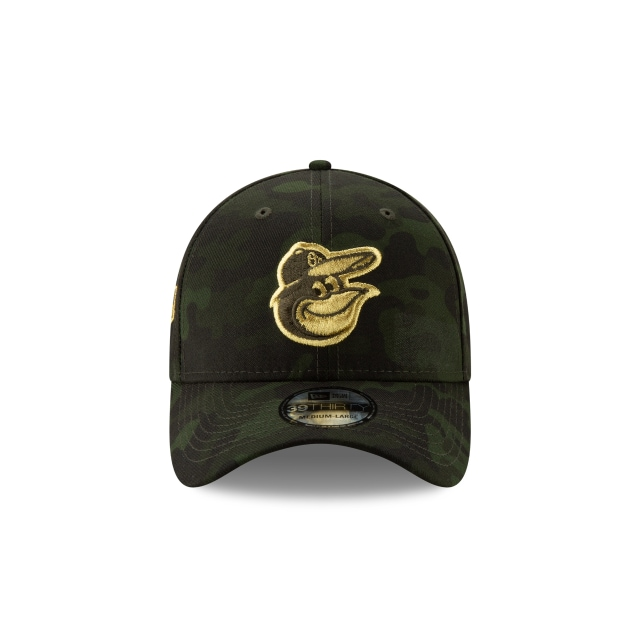 Baltimore Orioles Mlb Armed Forces Day 2019  39thirty Elástica | Baltimore Orioles Caps | New Era Cap