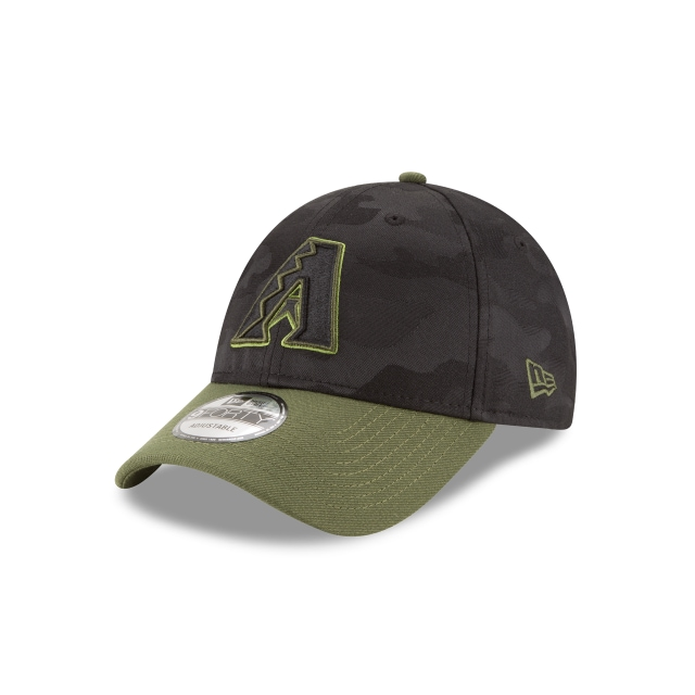 Arizona Diamondbacks Memorial Day  9Forty Strapback Vista izquierda tres cuartos
