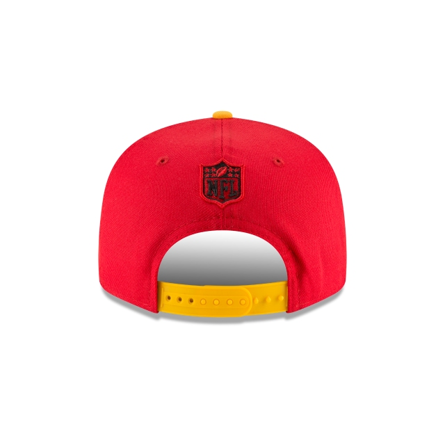 Kansas City Chiefs Draft NFL 2018 9Fifty Snapback Vista trasera