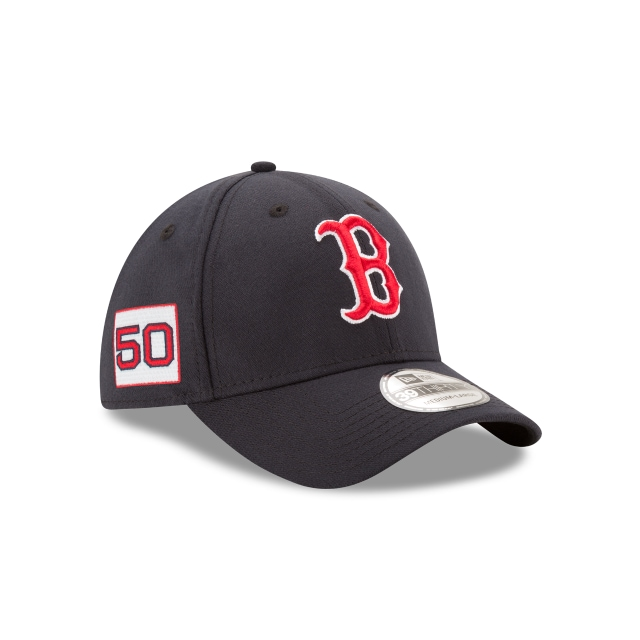 71232a4333798 Gorra De Boston Red Sox Player Number 50 Mookie Betts 39thirty Elástica