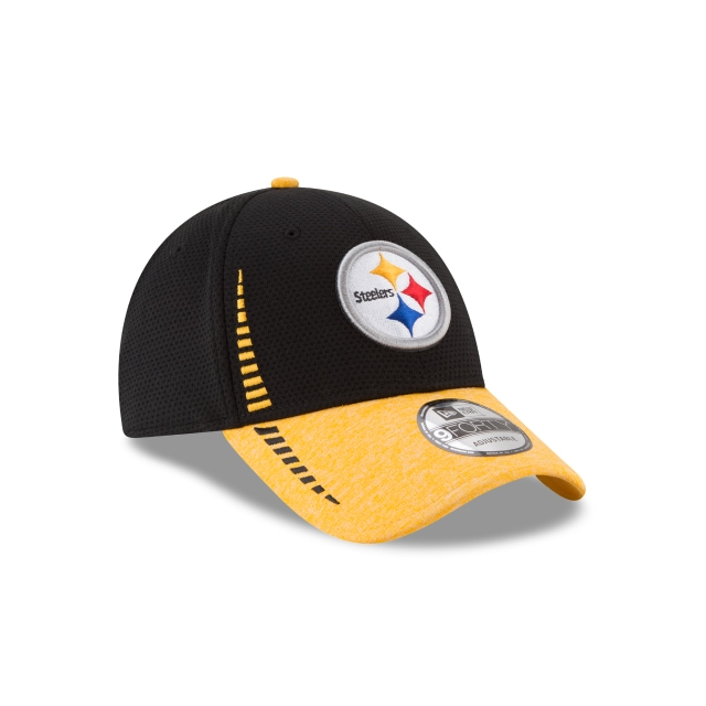 Pittsburgh Steelers Speed Tech  9forty Strapback | Pittsburgh Steelers Caps | New Era Cap