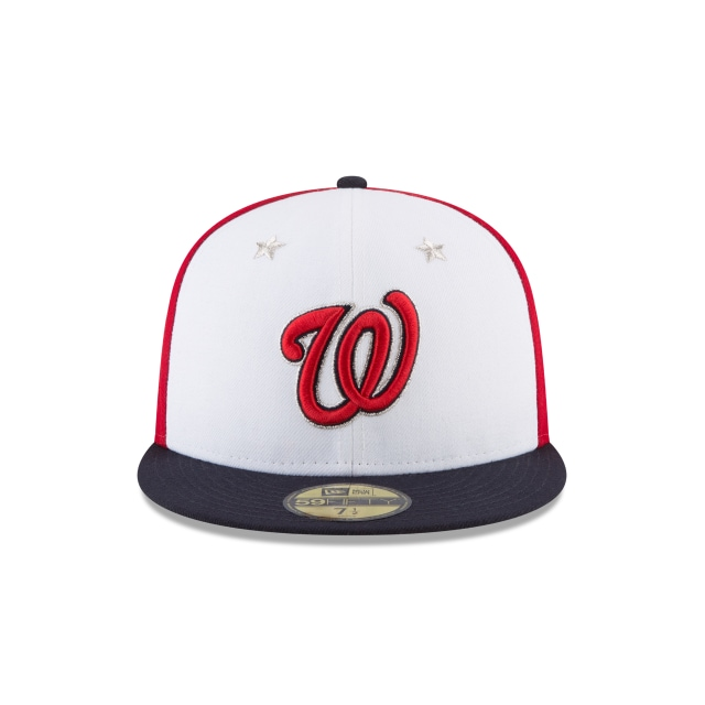 Washington Nationals MLB All-Star Game 2018 Niño 59Fifty Cerrada Vista frontal