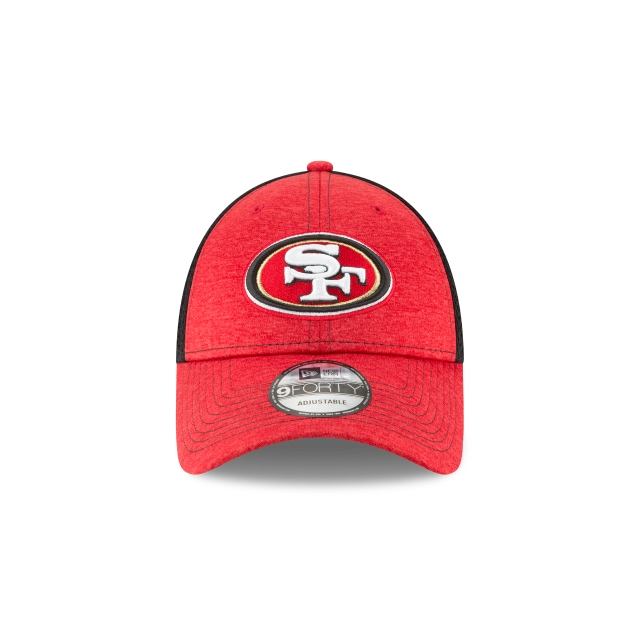San Francisco 49Ers Shadow Turn 9Forty Strapback Vista frontal
