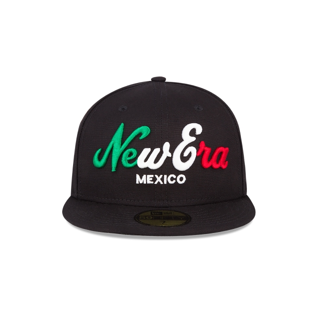 New Era Básicos de México  59Fifty Cerrada Vista frontal
