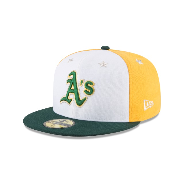 Oakland Athletics MLB All-Star Game 2018 Niño 59Fifty Cerrada Vista izquierda tres cuartos
