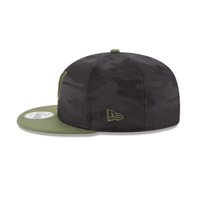 Milwaukee Brewers Memorial Day  9Fifty Snapback Vista izquierda