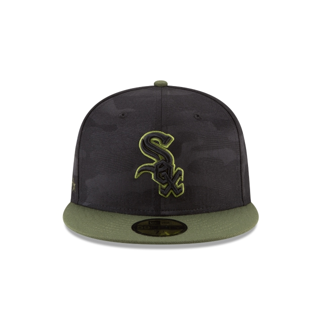 Chicago White Sox Memorial Day  59Fifty Cerrada Vista frontal