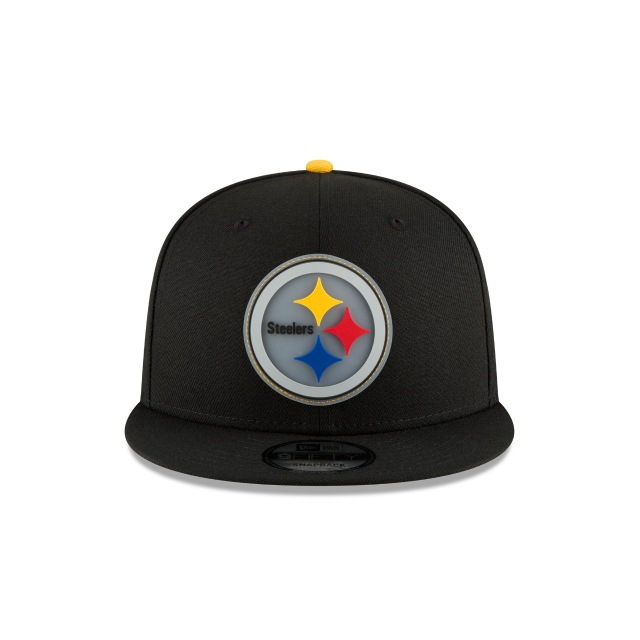 Pittsburgh Steelers Team Cleared  9Fifty Snapback Vista frontal