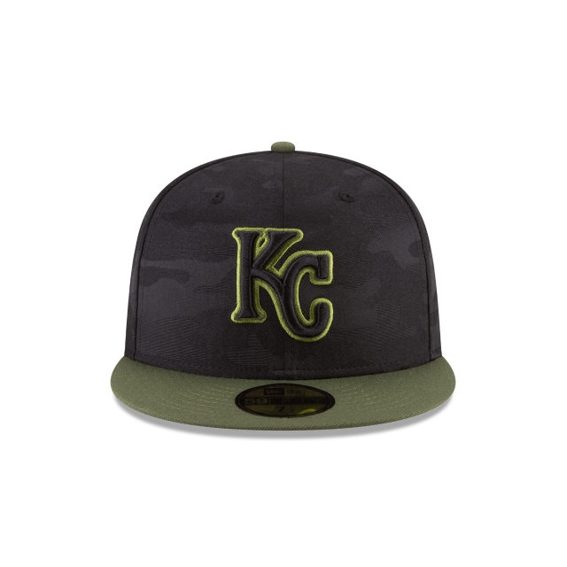 Kansas City Royals Memorial Day  59Fifty Cerrada Vista frontal