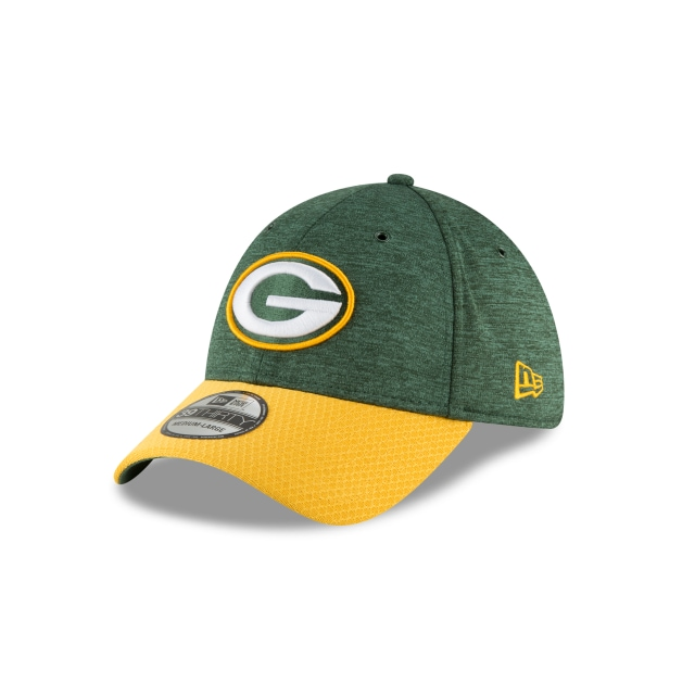 Green Bay Packers Nfl Sideline Defend 2018  39thirty Elástica | New Era Cap
