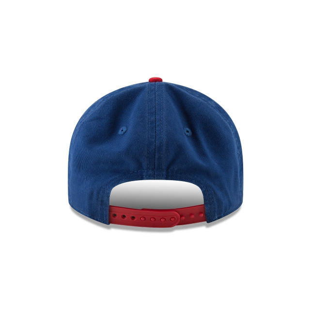 Chicago Cubs Injection Pack Team Retro  9Fifty RC Snapback Vista trasera