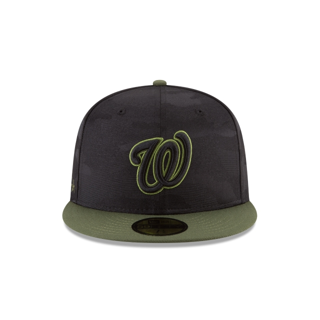 Washington Nationals Memorial Day  59Fifty Cerrada Vista frontal