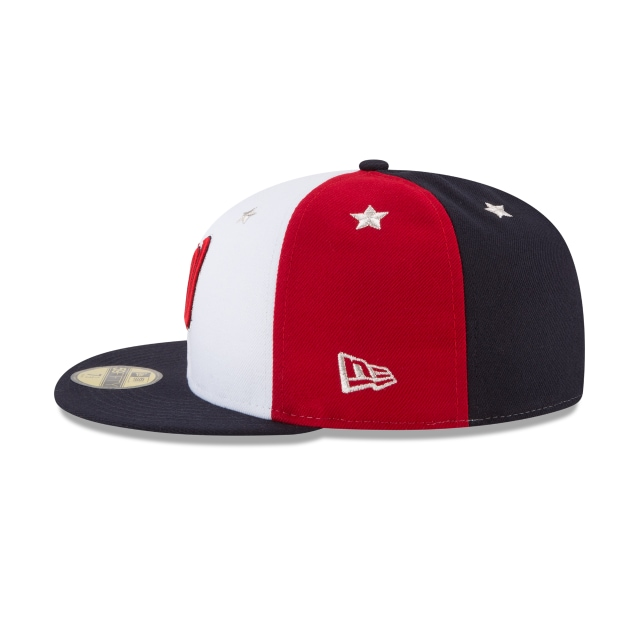 Washington Nationals MLB All-Star Game 2018 Niño 59Fifty Cerrada Vista izquierda
