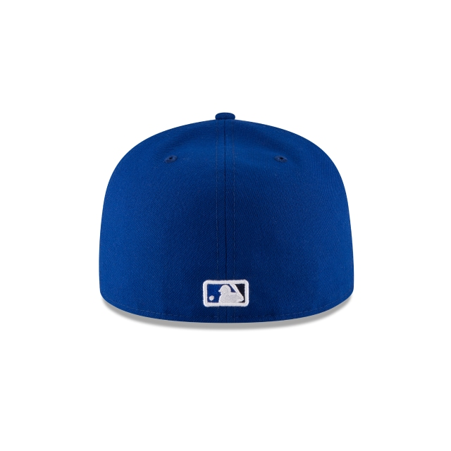 Toronto Blue Jays Authentic Collection  59Fifty Cerrada Vista trasera