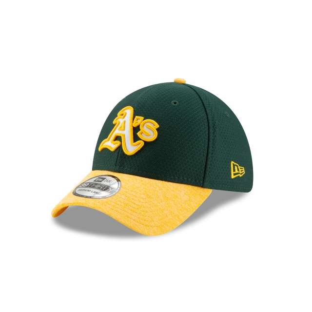 Oakland Athletics Popped Shadow  39thirty Elástica | Oakland Athletics Caps | New Era Cap