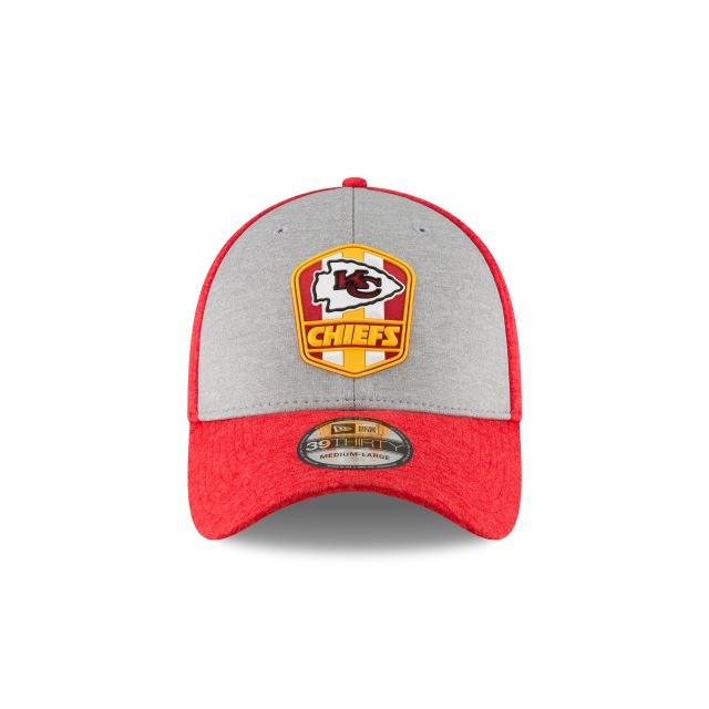 Kansas City Chiefs Nfl Sideline Attack 39thirty Elástica | Kansas City Chiefs Caps | New Era Cap