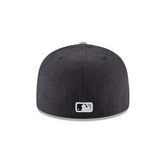 New York Yankees Heather Hype Fit  59fifty Cerrada | New York Yankees Caps | New Era Cap