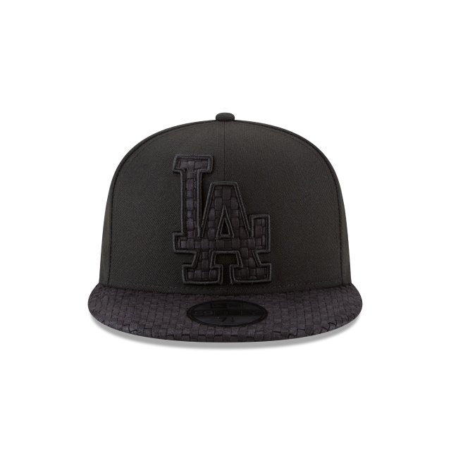Los Angeles Dodgers Logo Weave  59Fifty Cerrada Vista frontal