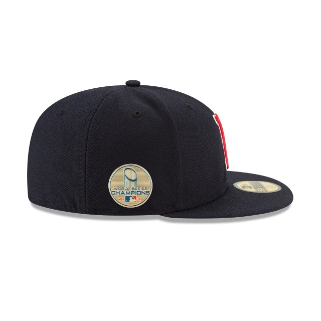 Boston Red Sox Mlb Authentic Collection Campeón 2018 59fifty Cerrada | Boston Red Sox Caps | New Era Cap