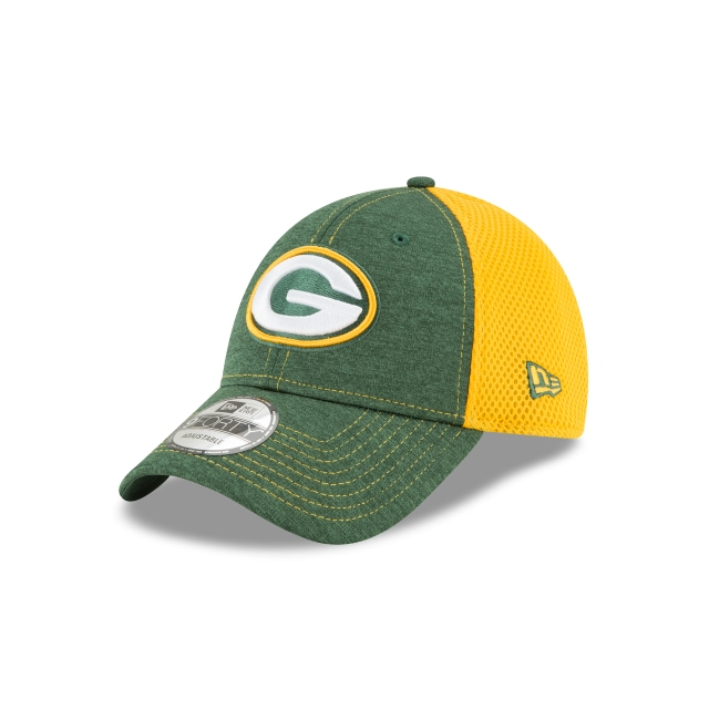 Green Bay Packers Shadow Turn  9forty Strapback | New Era Cap