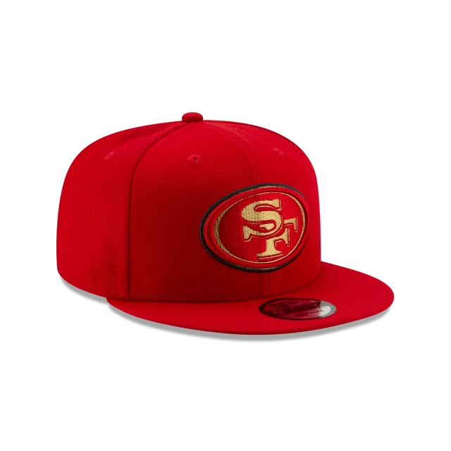 Gorra De San Francisco 49ers Loggo Stopper  9fifty Snapback | San Francisco 49ers Caps | New Era Cap