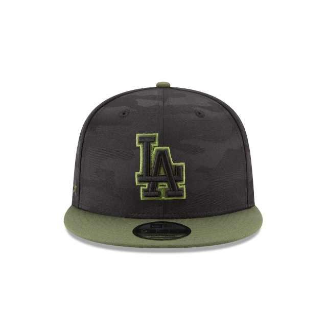 Los Angeles Dodgers Memorial Day  9Fifty Snapback Vista frontal