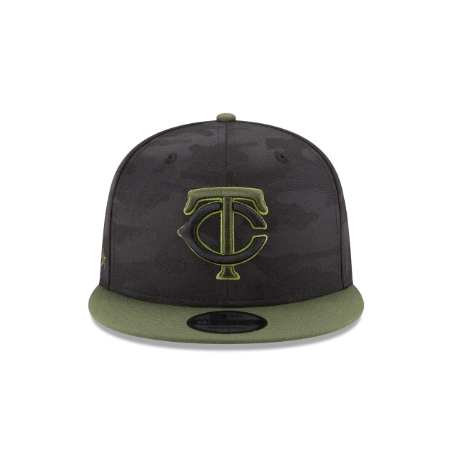 Minnesota Twins Memorial Day  9Fifty Snapback Vista frontal