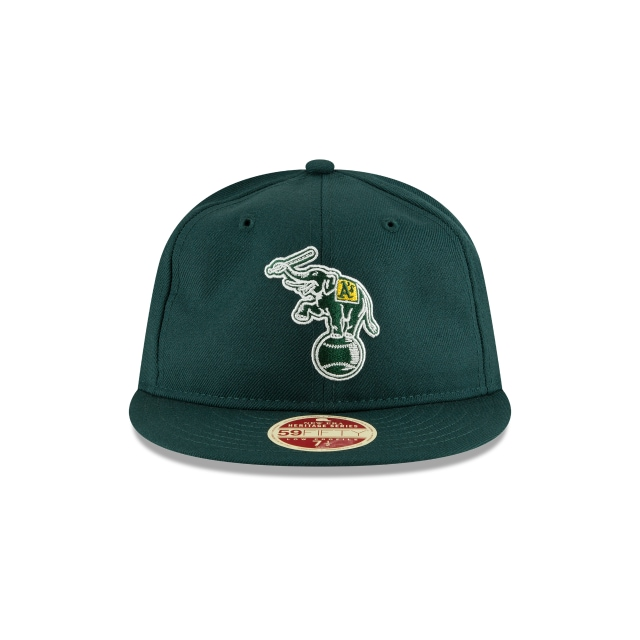 Oakland Athletics Injection Pack Vintage Stripe  59Fifty RC Cerrada Vista frontal